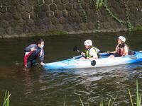 カヌー体験②