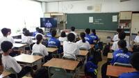 1学期終業式教室